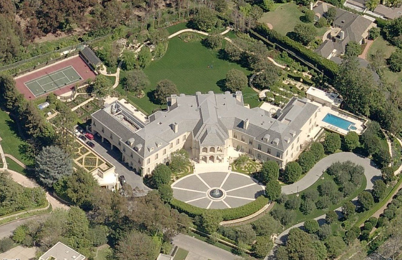 celebrity homes Celebrity Homes Top 10 Most Expensive Celebrity Homes 1371
