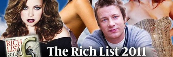 Sunday Times Rich List 2011 – Richest People In UK