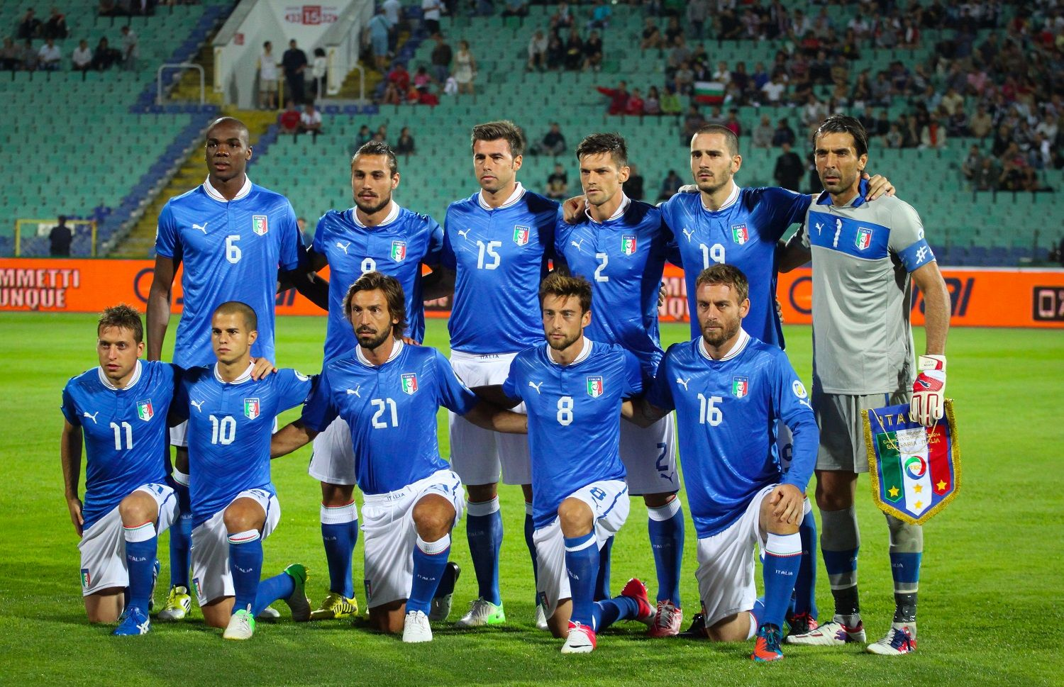 Top 10 Highest-Paid Italian Soccer Players of 2013