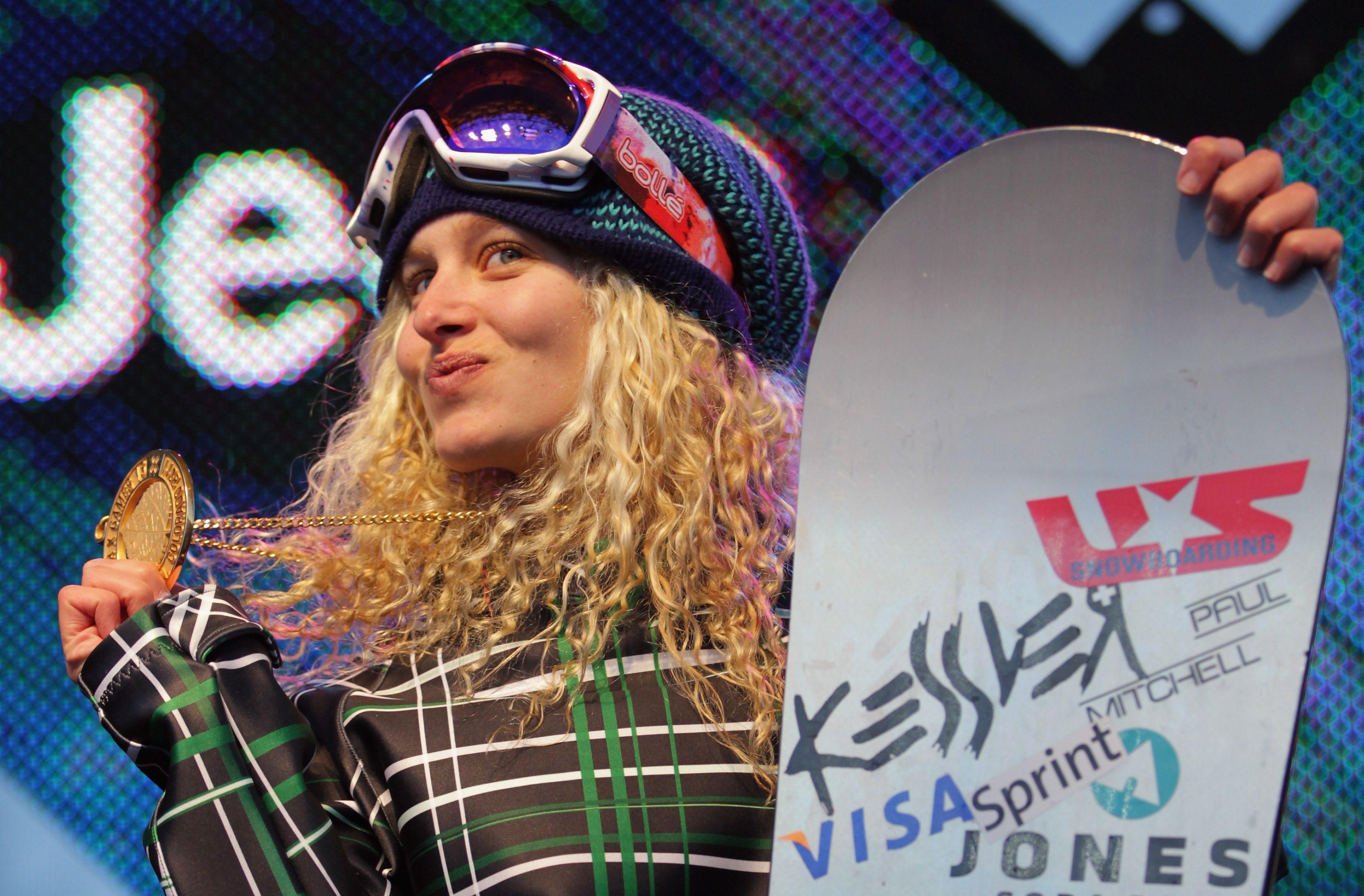 5. Lindsey Jacobellis - Snowboarder - Net Worth: $1 million