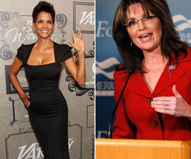 1. Halle Berry and Sarah Palin