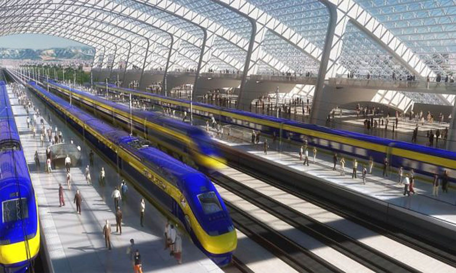 The California High-Speed Rail project is planned to replace several
