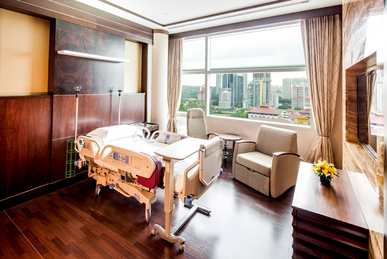 The 10 Most Luxurious Hospital Rooms In The World Therichest