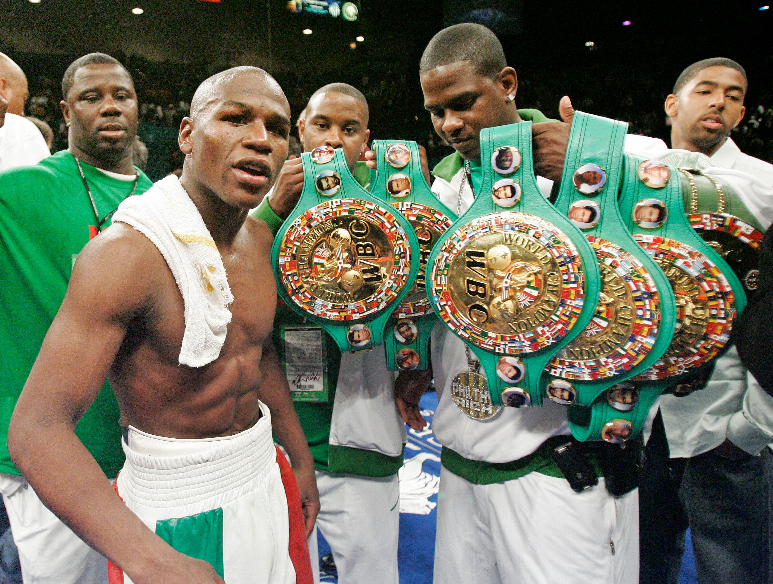 The World's 10 Richest Boxers