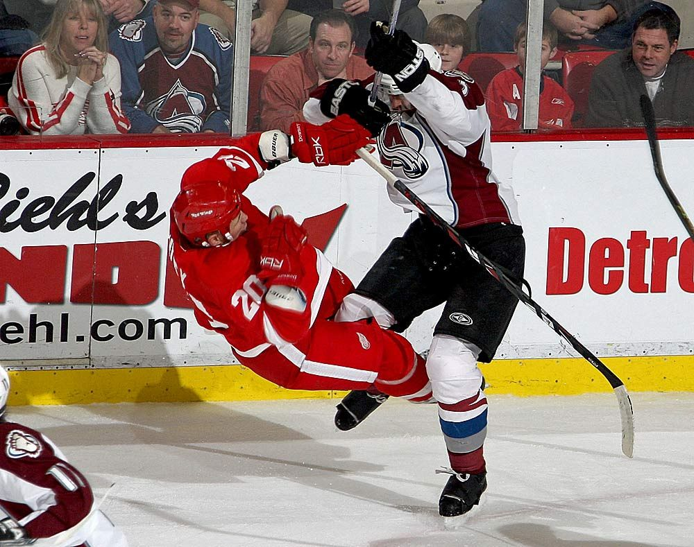 10 Most Devastating Hits In NHL History