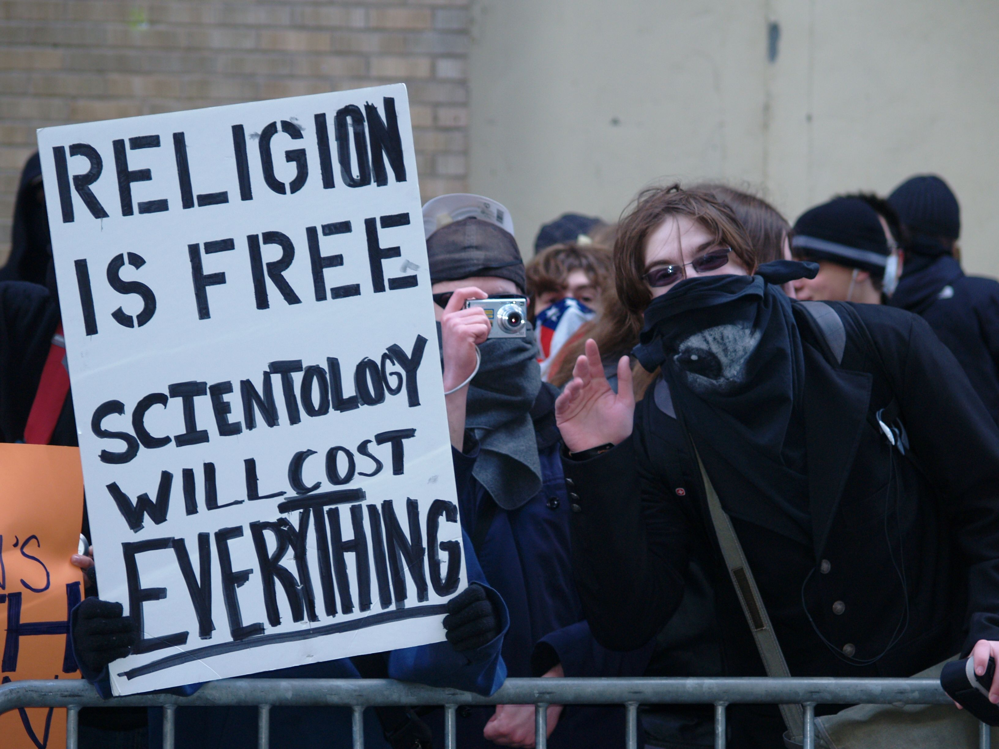 5. Scientology has been known to be very hostile towards its critics.