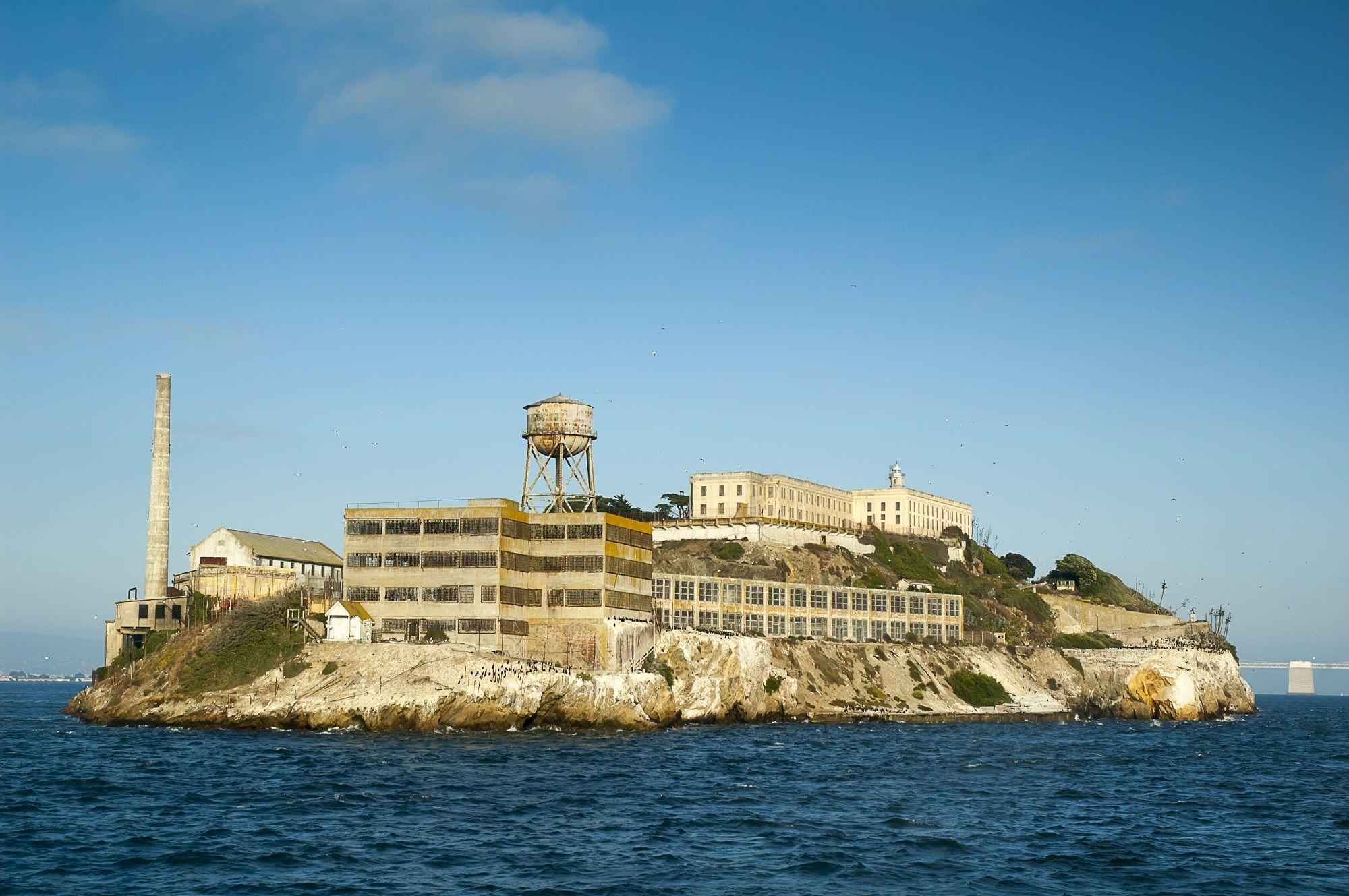 7. Alcatraz Island Prison