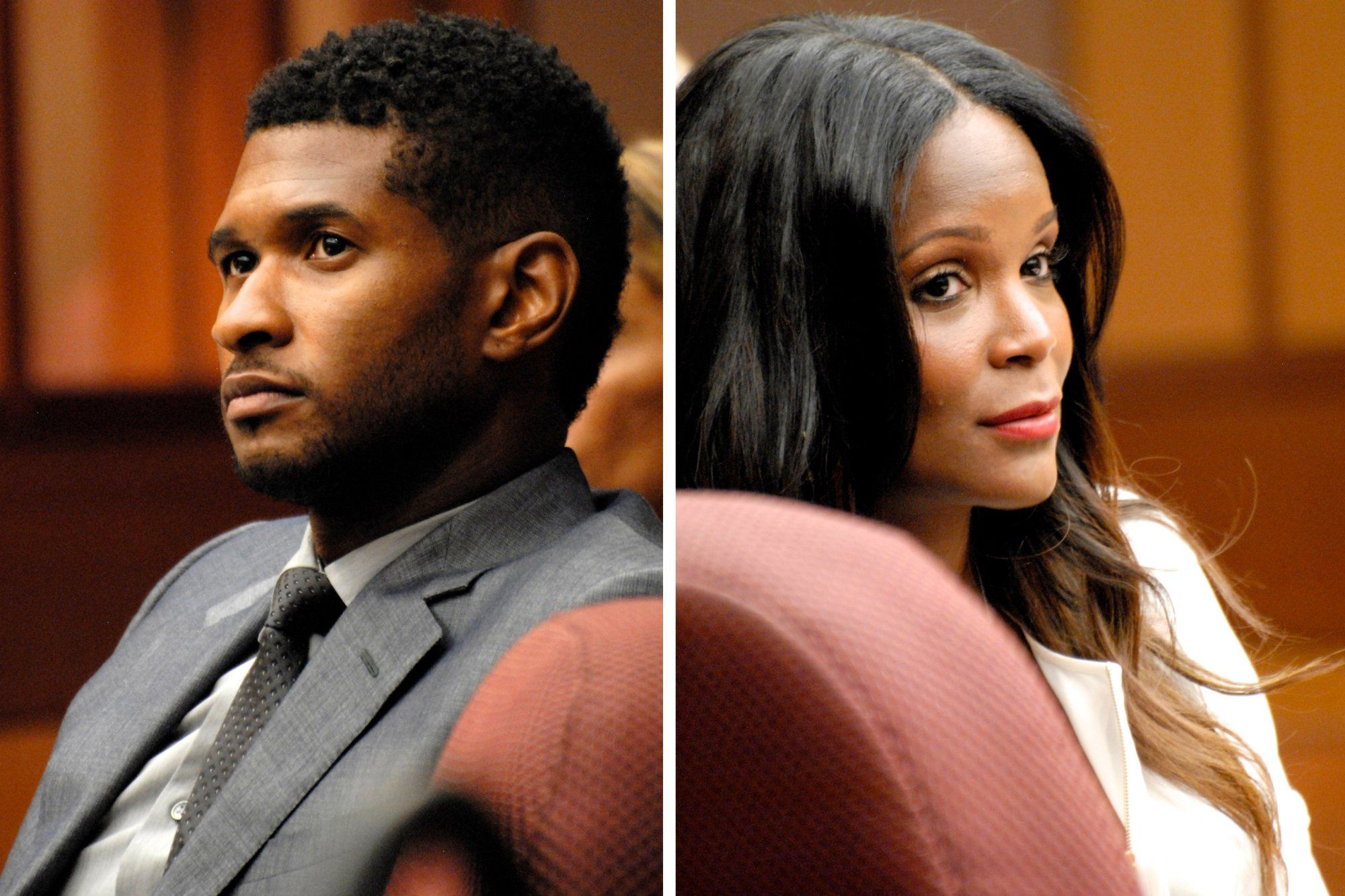 10. Usher and Tameka Foster