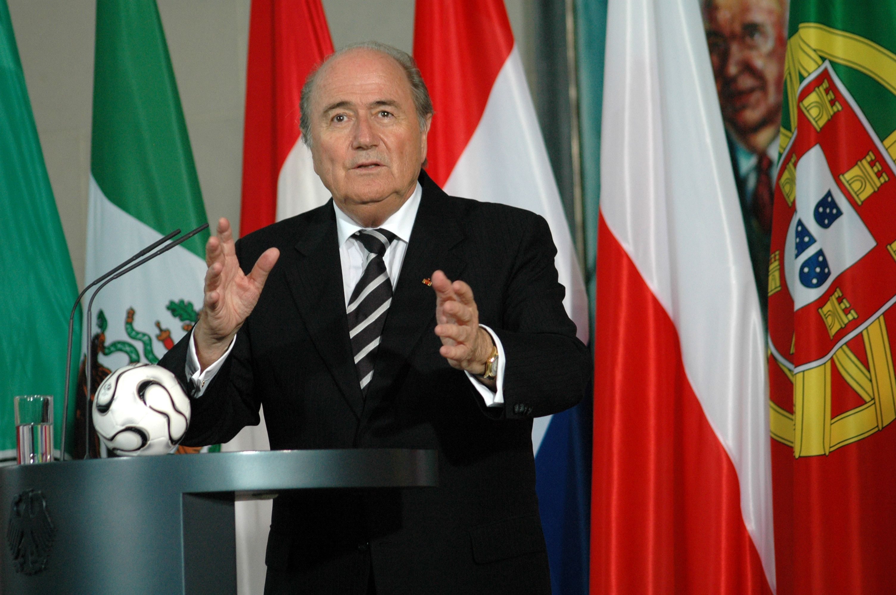 7. Sepp Blatter on Women's Football