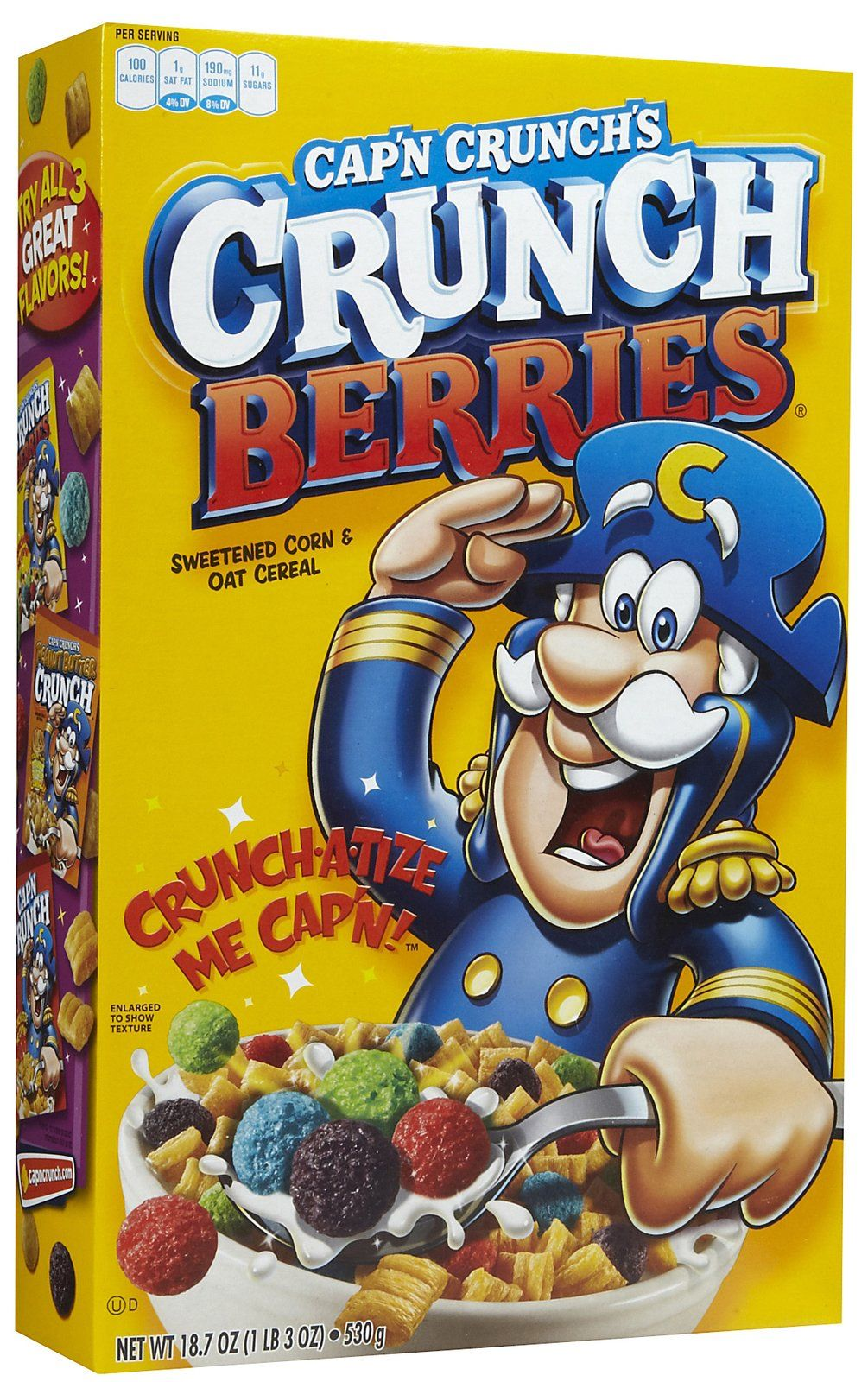 6. Cap'N Crunch To Satisfy His Hunger