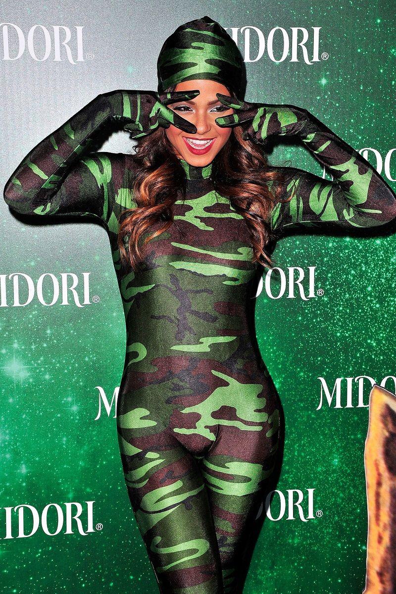 7. Christina Milian –Camouflage