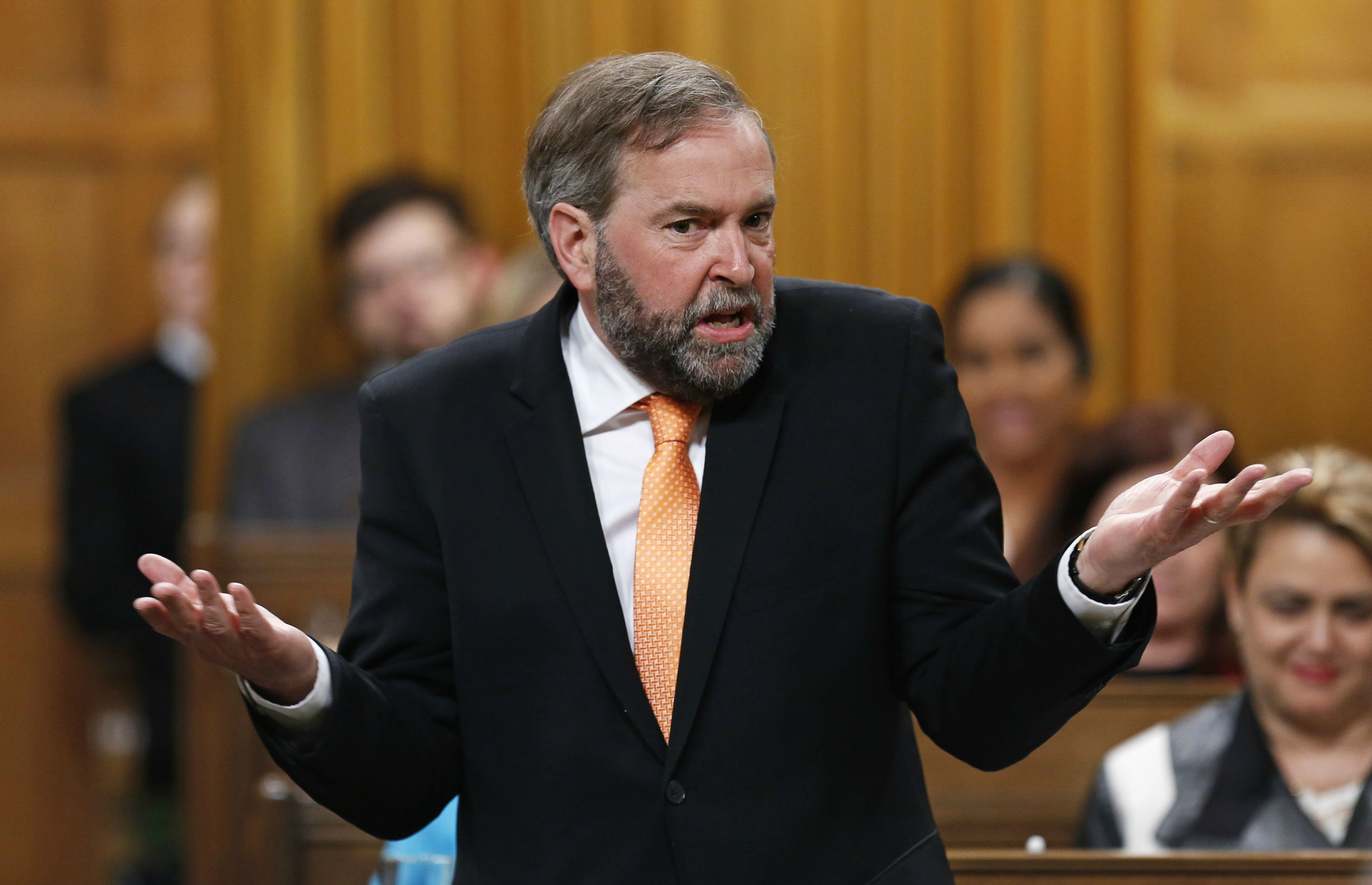 6. Trudeau's Intended Seat In Parliament Was Taken By Mulcair