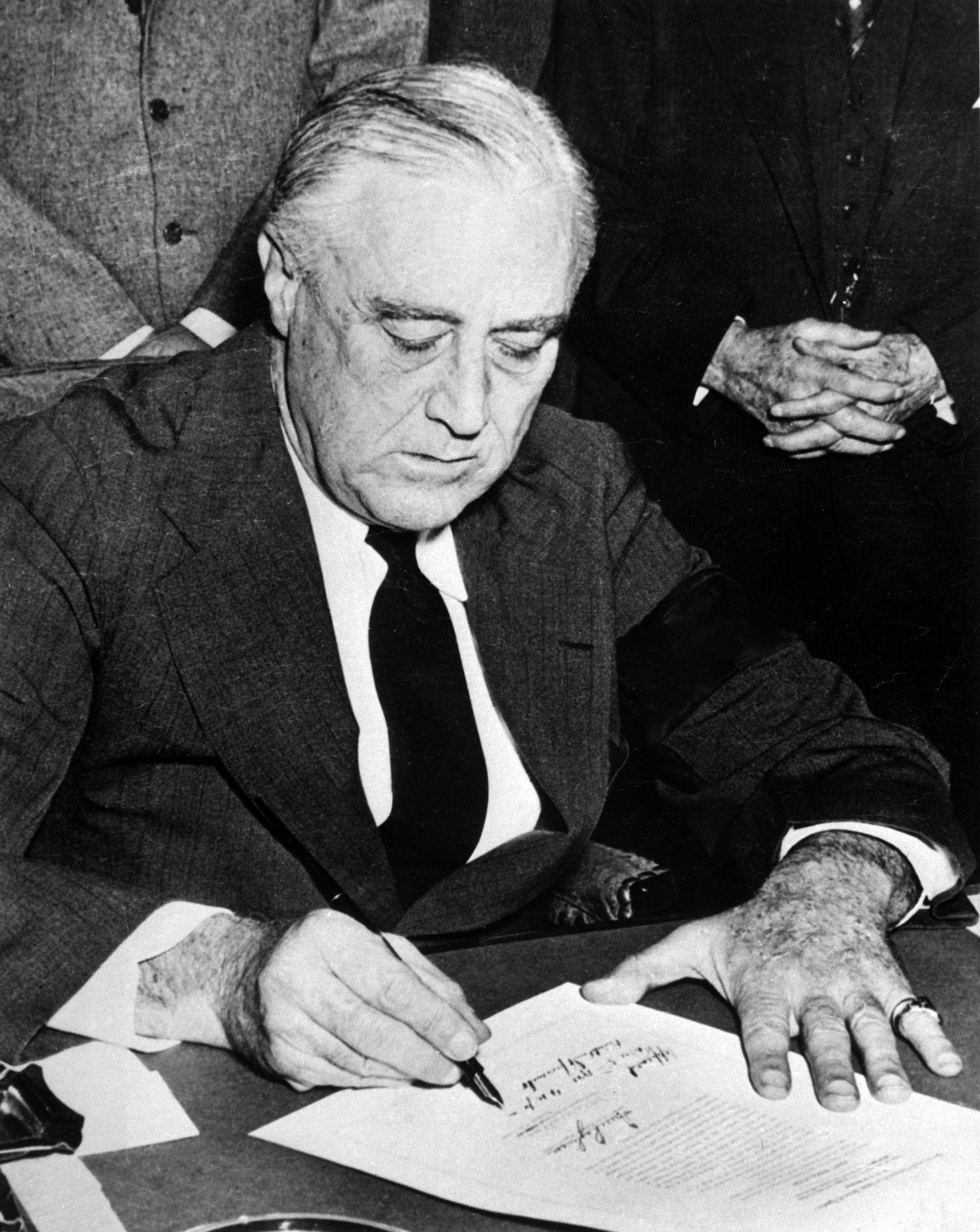 6. Franklin D. Roosevelt