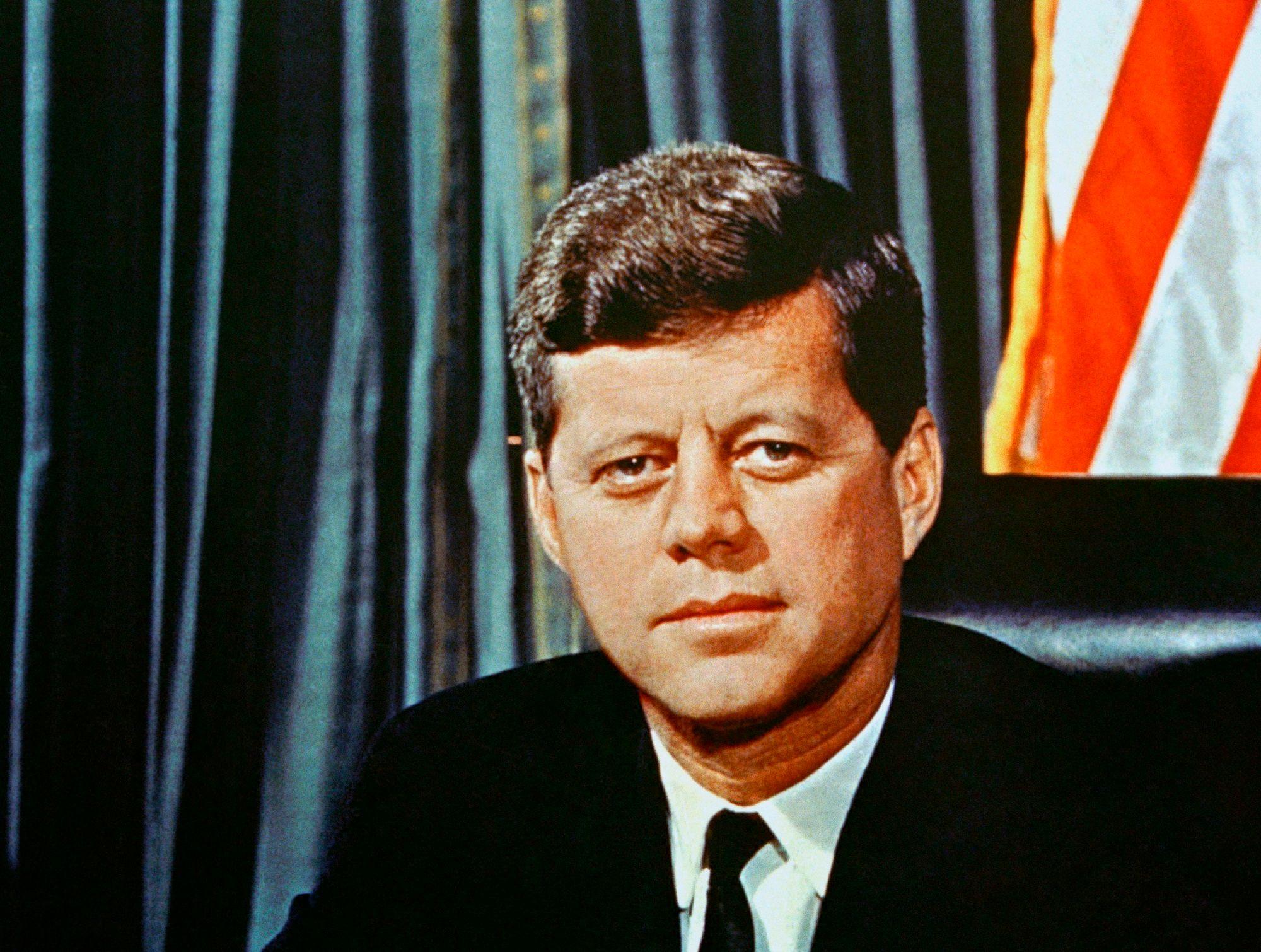 9. John F. Kennedy
