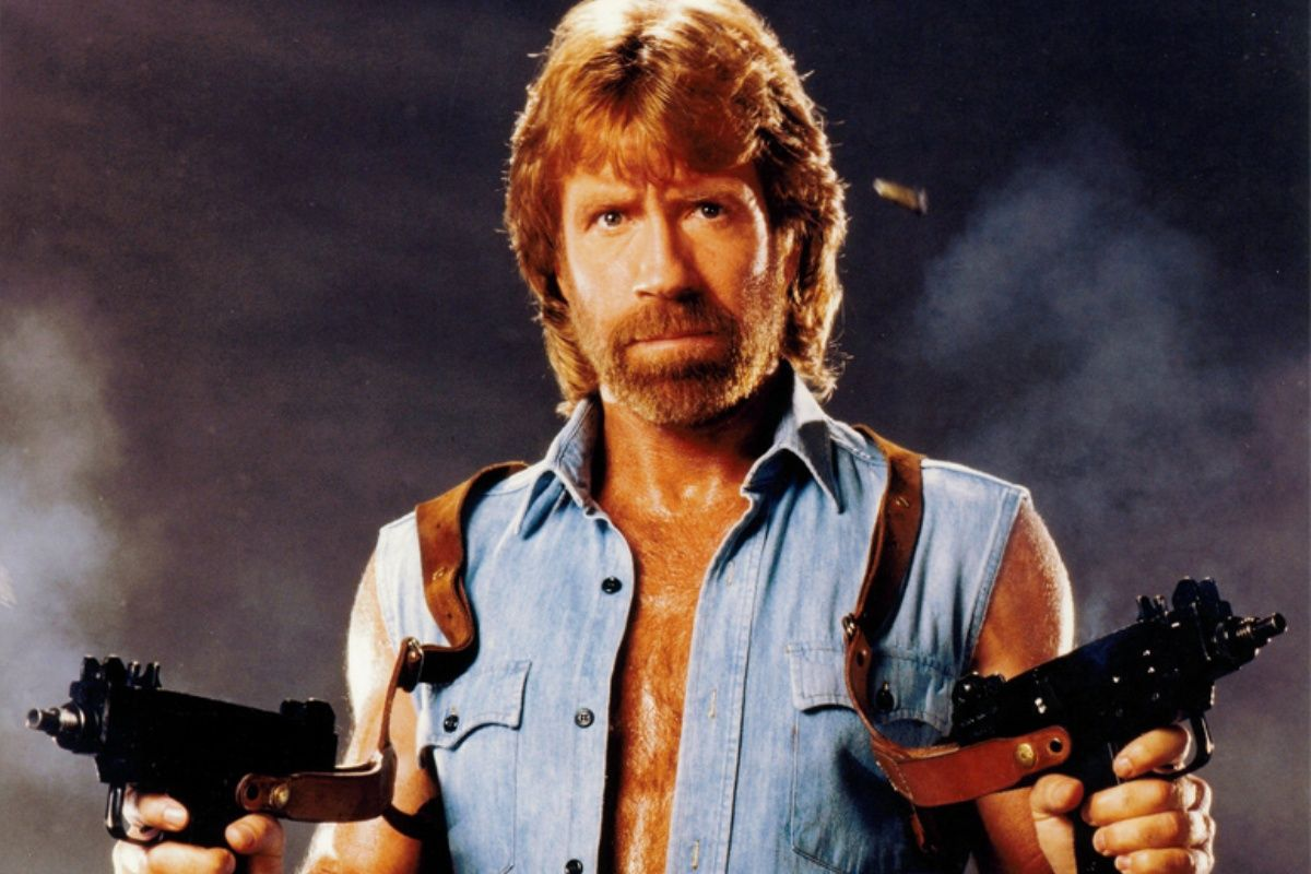 9. Chuck Norris Was A Shy Student