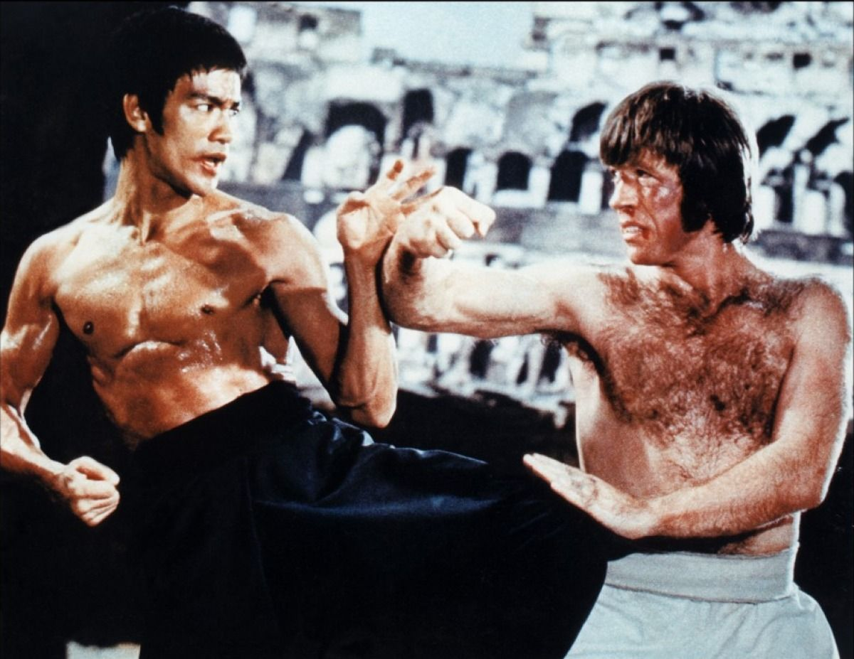 1. Chuck Norris Created his Own Martial Art