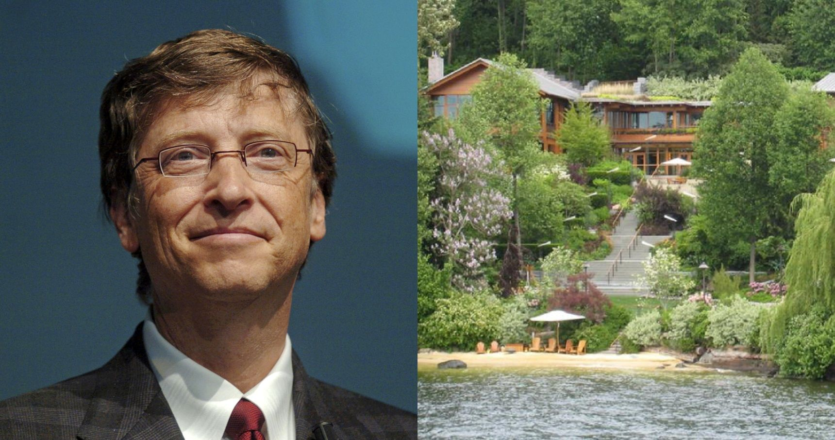 12 Unbelievable Facts About Bill Gates' House