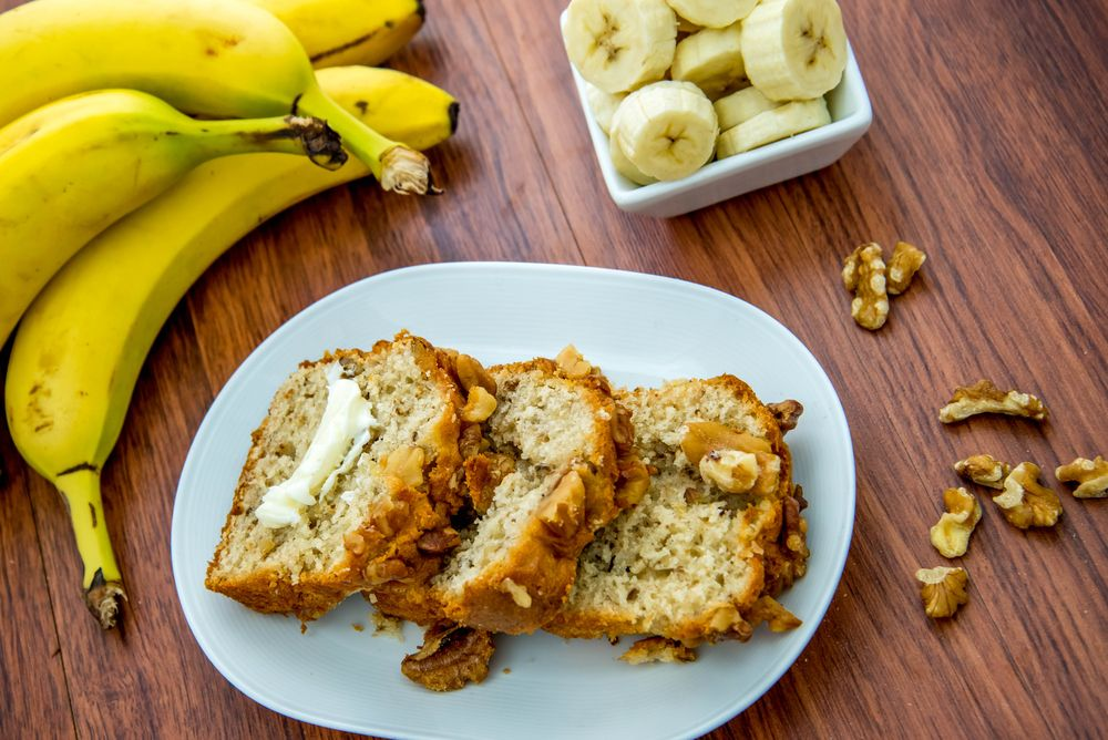 8. Banana Nut Bread
