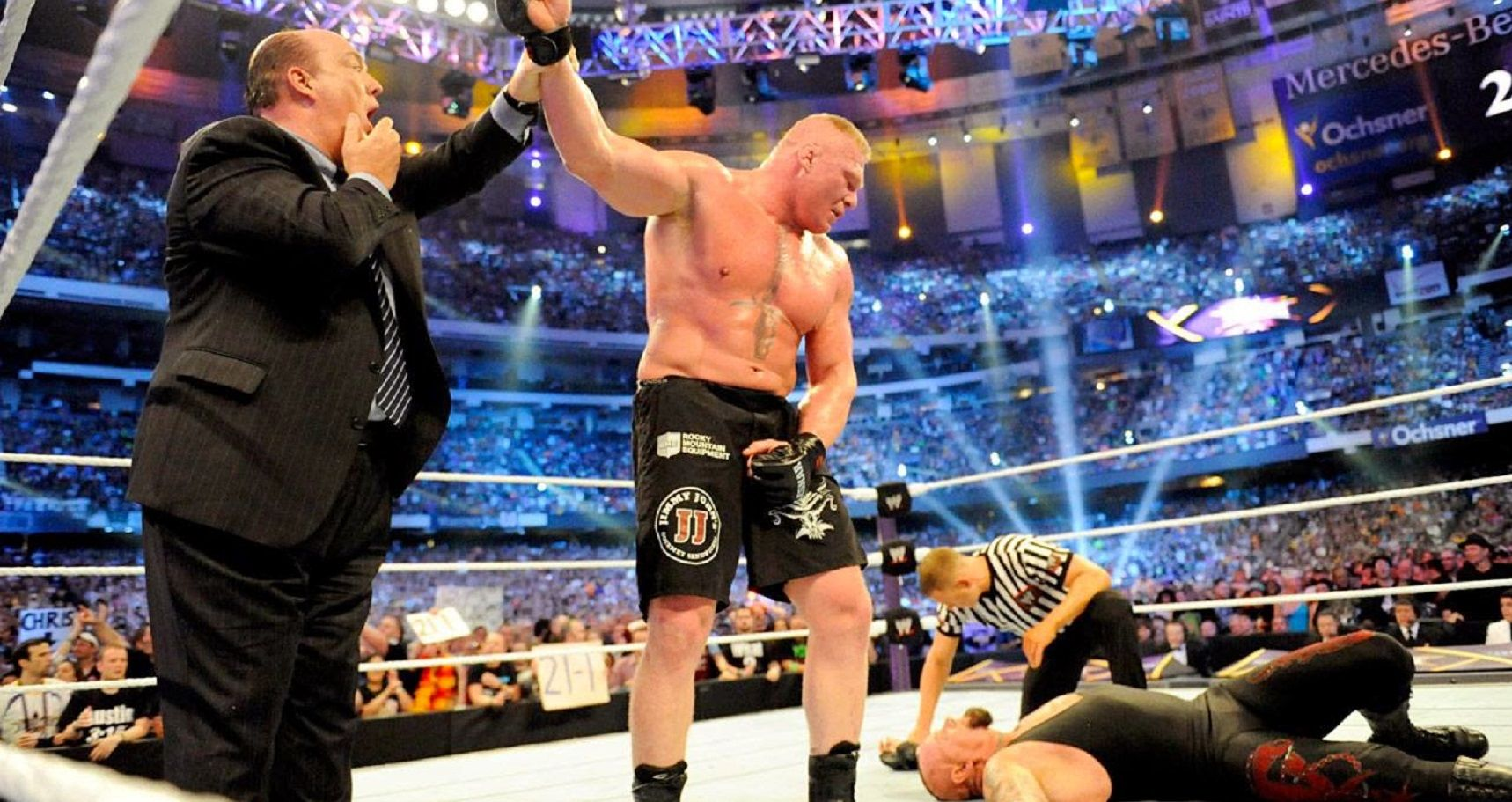 The 15 Biggest Upsets In WWE History