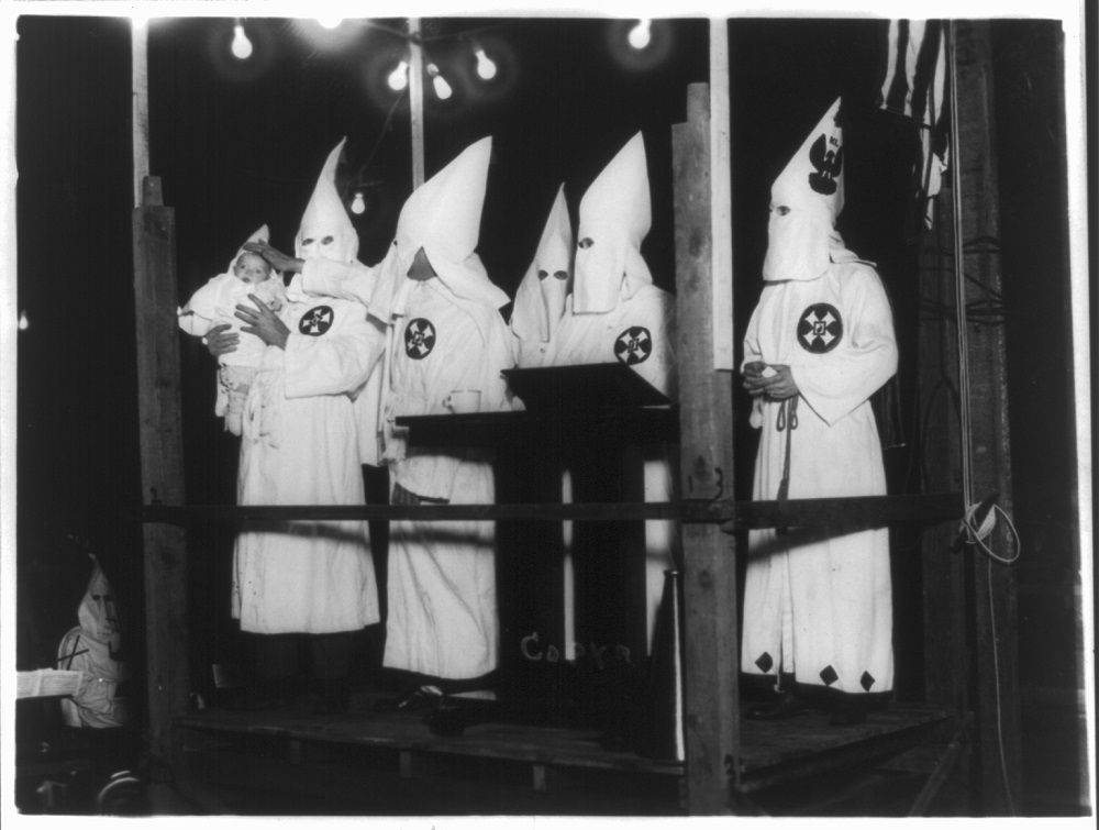 4. The KKK Turned Him Into A Gangster