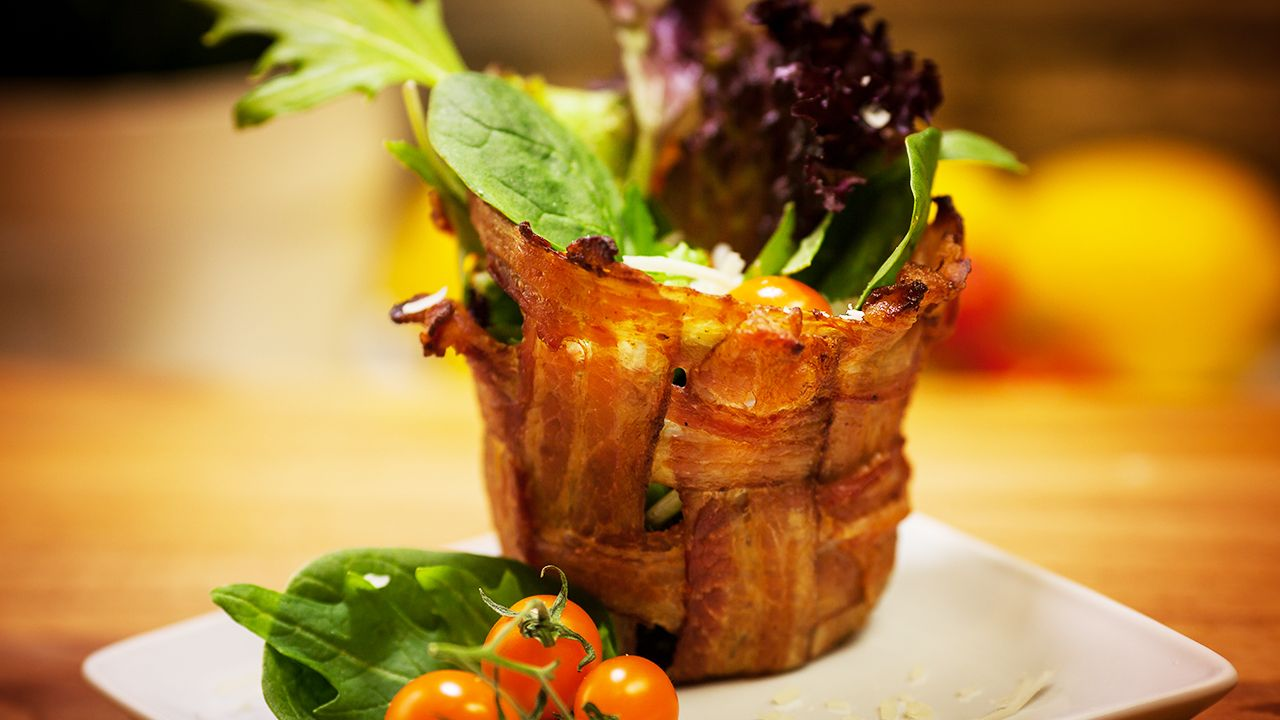 Yummy Bacon Bowls