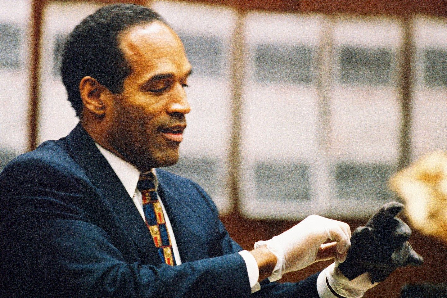 oj simpson found not guilty of murder On july 22, 1994, former football hero oj simpson pleaded 100% not guilty to the double murder charge he faced for the brutal deaths of his ex-wife nicole brown simpson and her friend ronald simpson was accused of killing both brown simpson and goldman on the night of june 12, 1994.