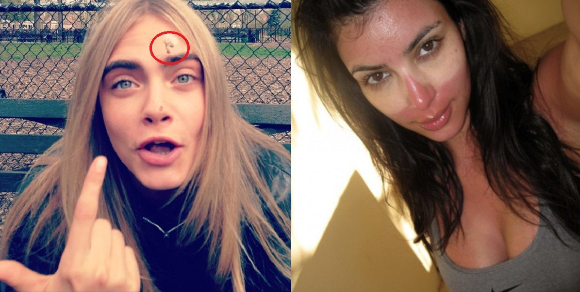 Embarrassing Selfies, Celebrity Wardrobe Malfunctions & More