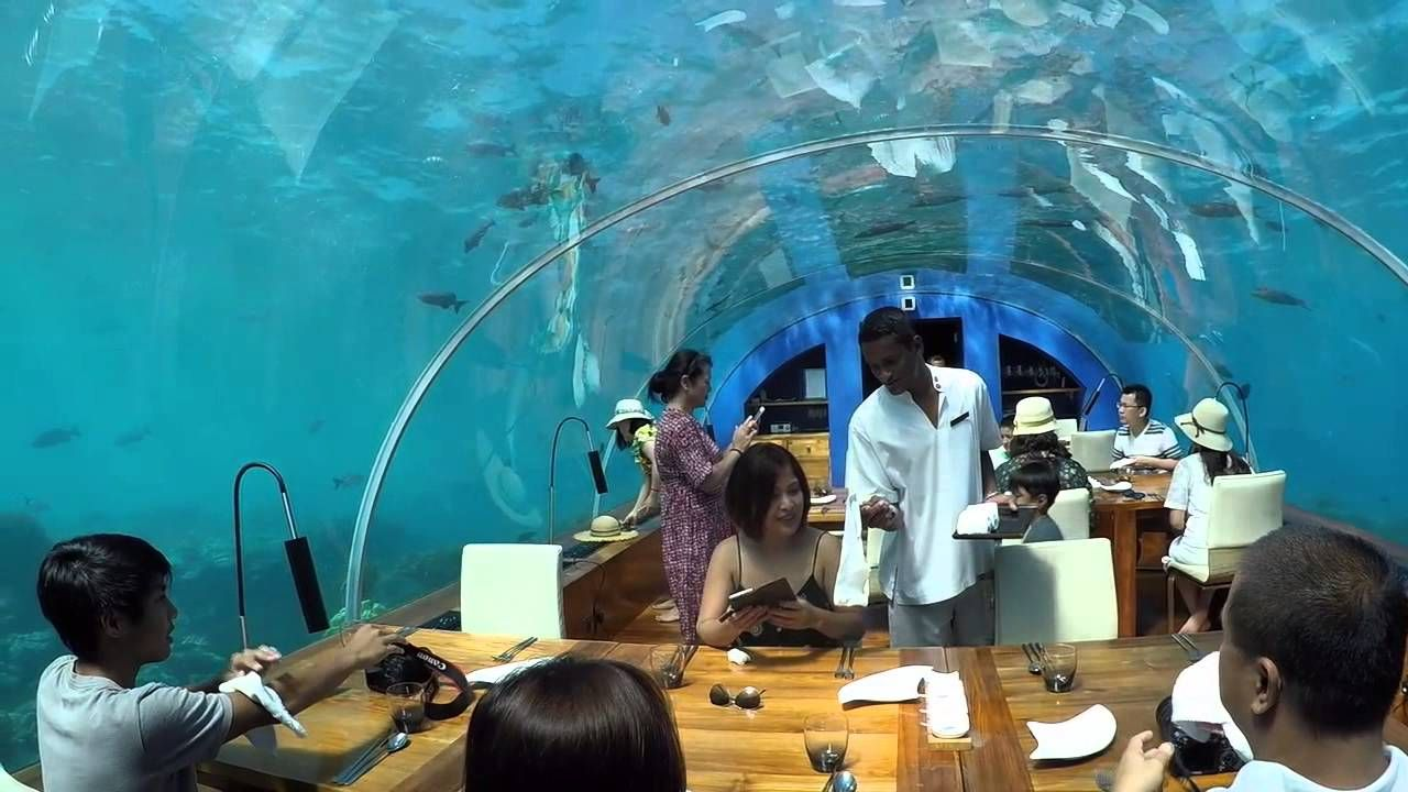 10 secret places around the world that you should know ithaa undersea restaurant maldives youtube