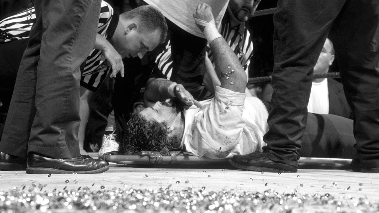 10 Shocking Times Wrestlers Finished Their Matches While Injured