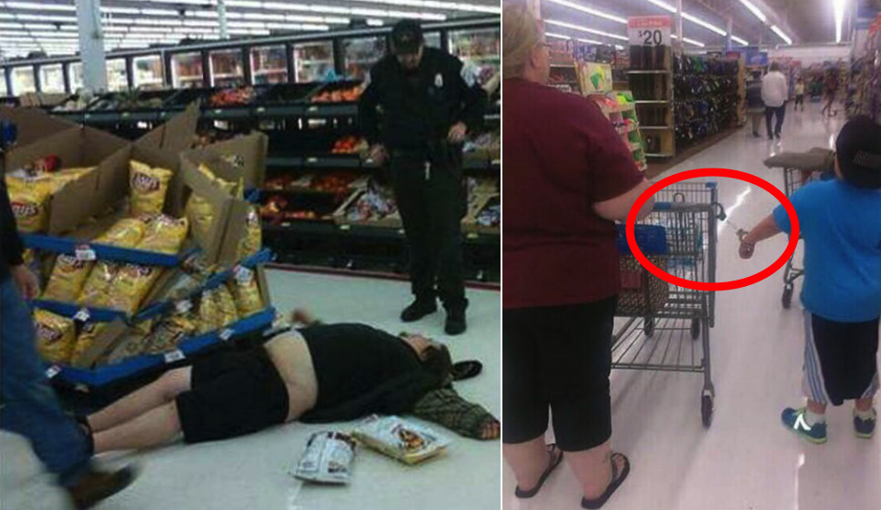 20 Bizarre Photos Of Walmart Shoppers That Make Us Think WTF? Outrageous Outfits On Walmart Shoppers