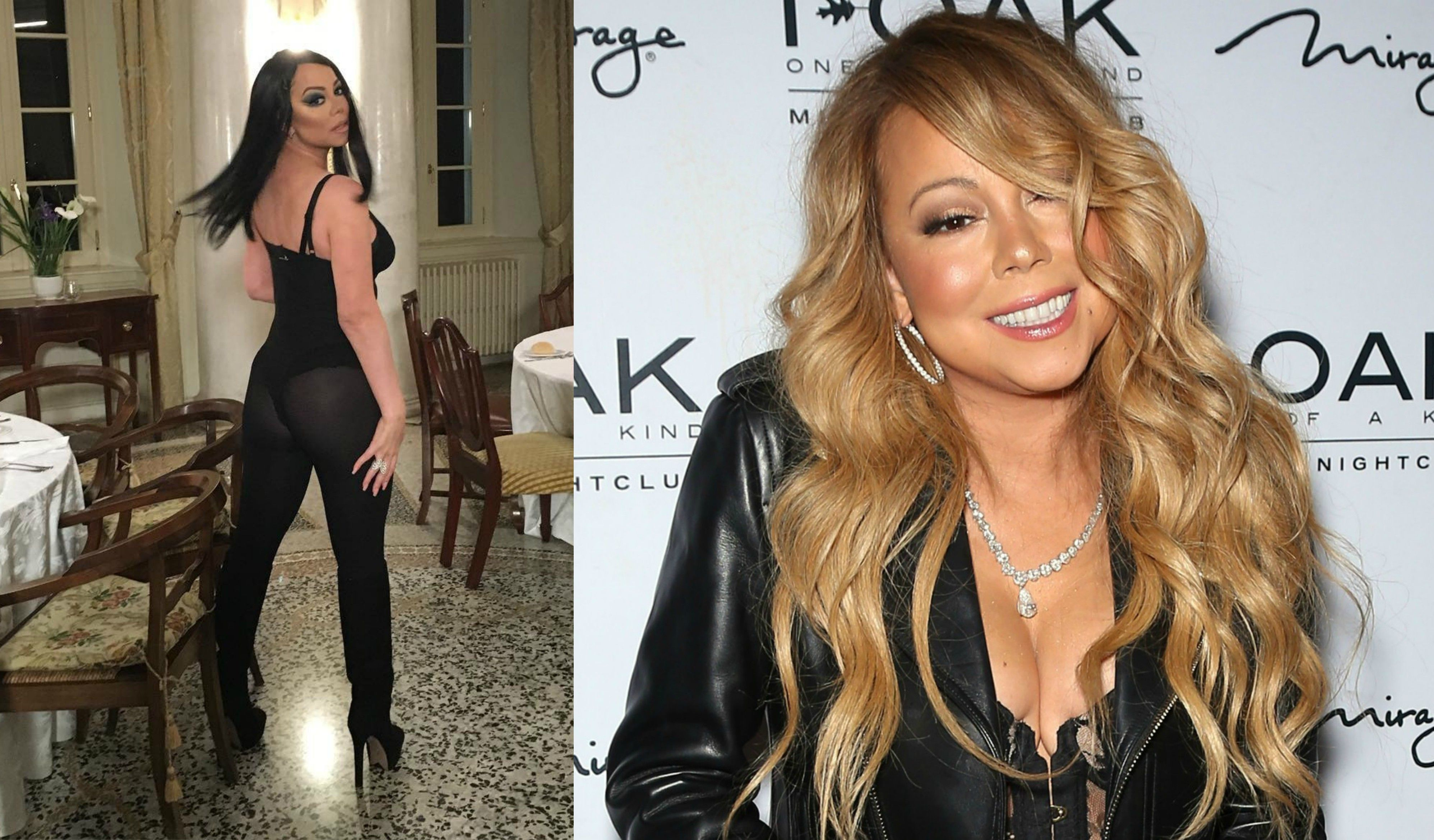 Mariah Carey Porn Lookalike