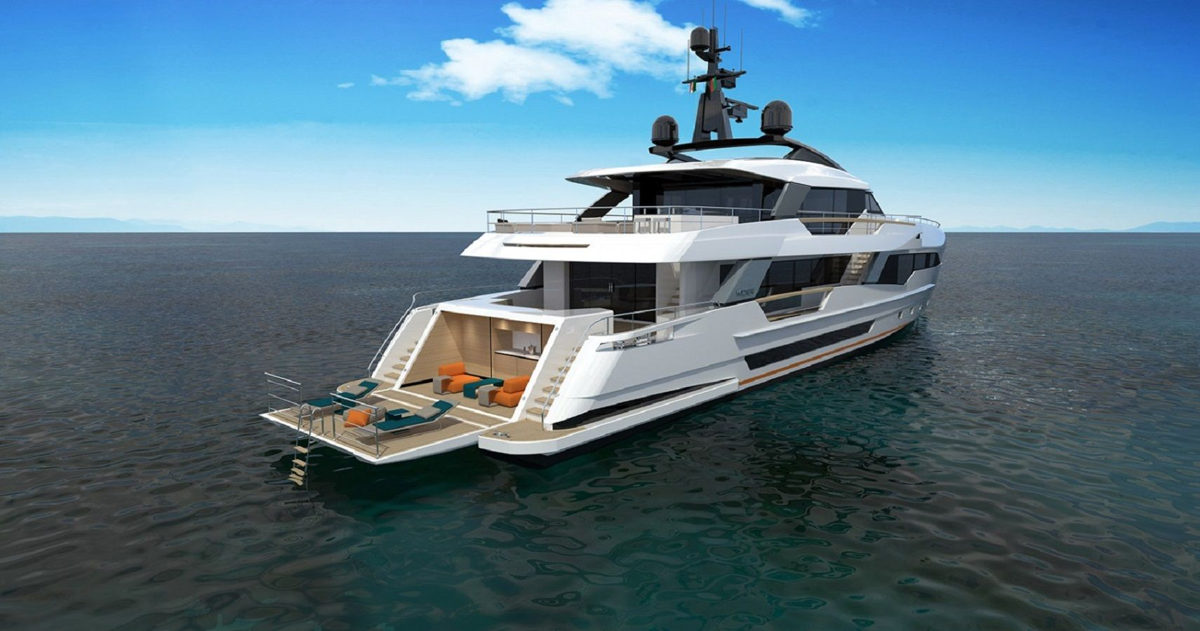 why the wider 130 is the ultimate luxury yacht
