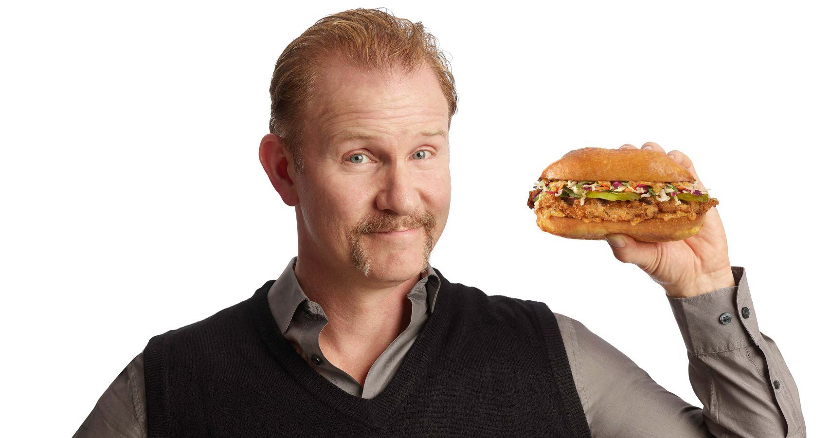 super size it Morgan spurlock, the director of super size me, came up with a great hook for his debut as a documentary filmmaker his experiment, to eat nothing but three mcdonalds meals a day every day for 30 consecutive days, provides an entertaining and occasionally disturbing narrative thread that allows for.