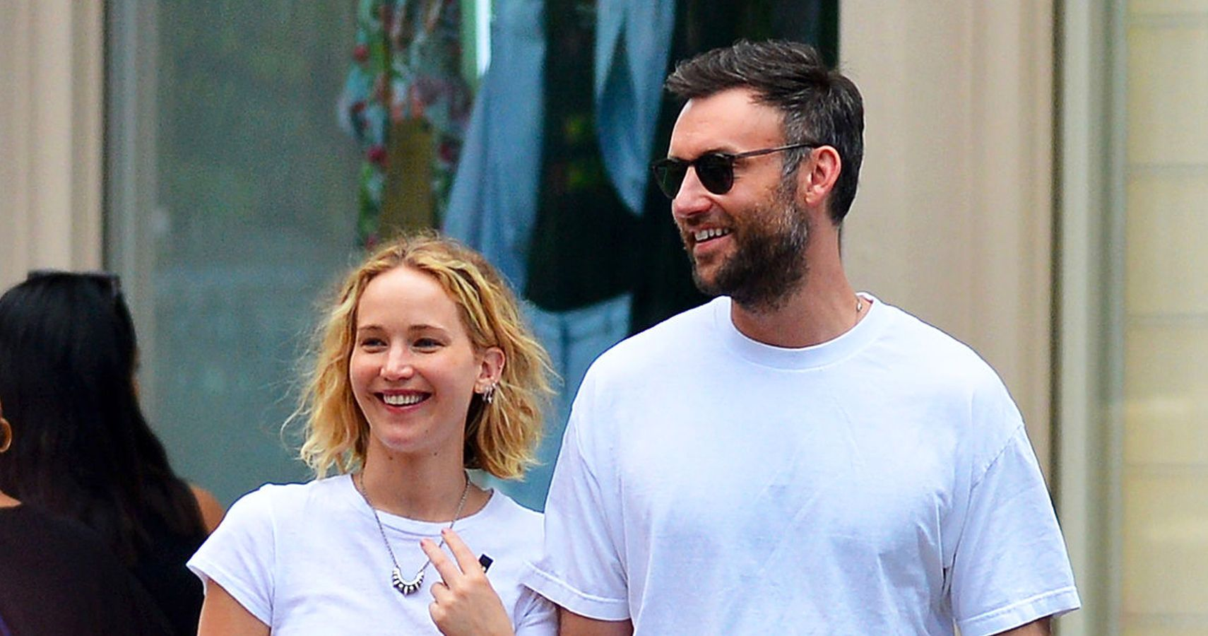 Jennifer Lawrence & Cooke Maroney Look Like They're More ...