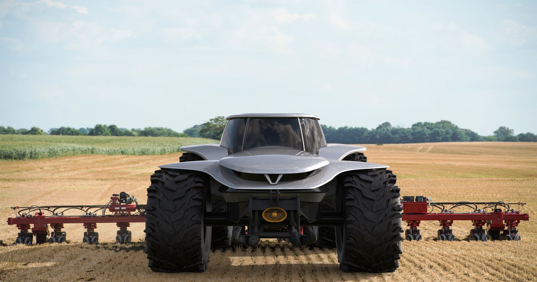 First Ever Self-Driving Tractor Is The Future Of Farming