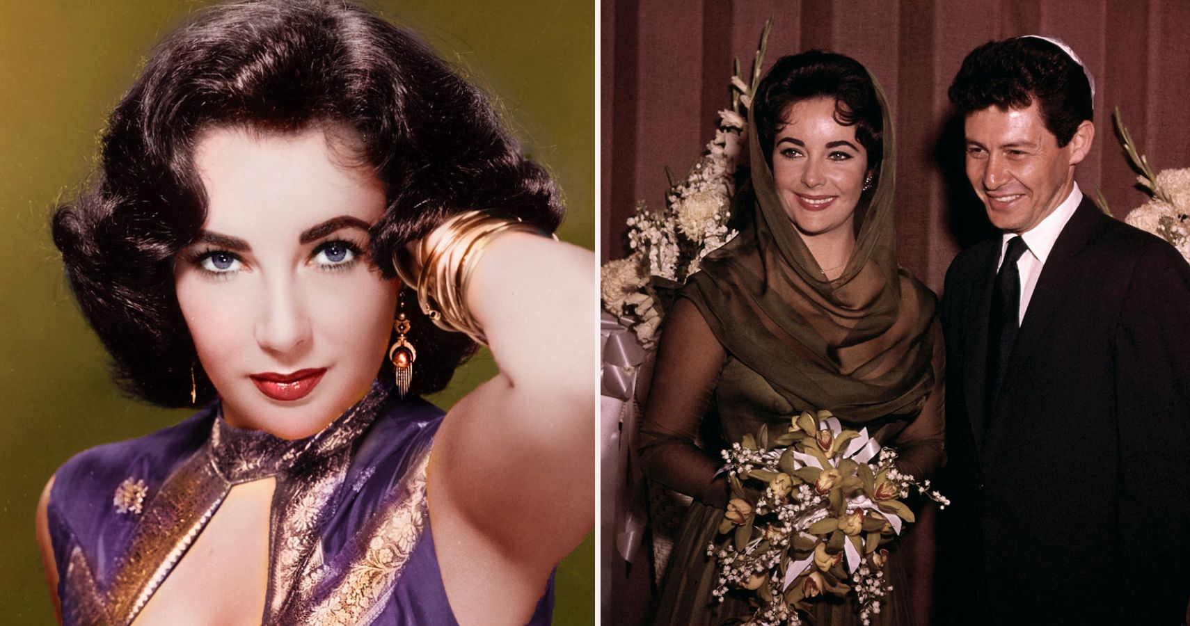 Ranked Elizabeth Taylor S 8 Lavish Wedding Dresses Therichest