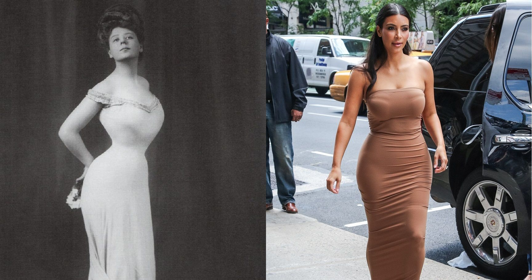 11 Ways Women's Bodies Have Changed Over The Past Century