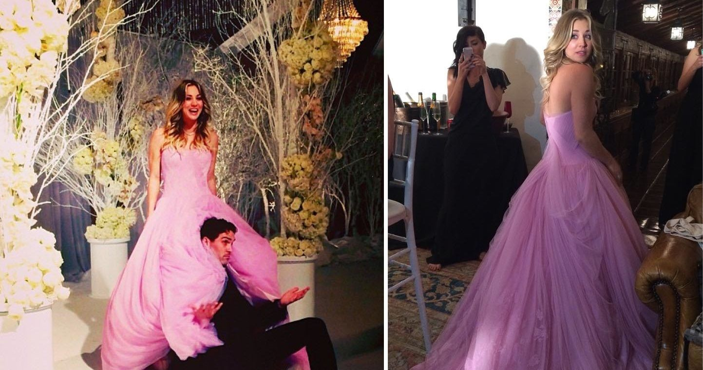11 Celebrities Who Didn't Wear A White Wedding Dress