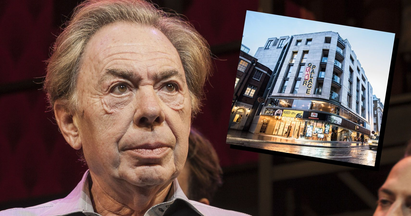"""Andrew Lloyd Webber Puts """"The Other Palace"""" Up For Sale"""