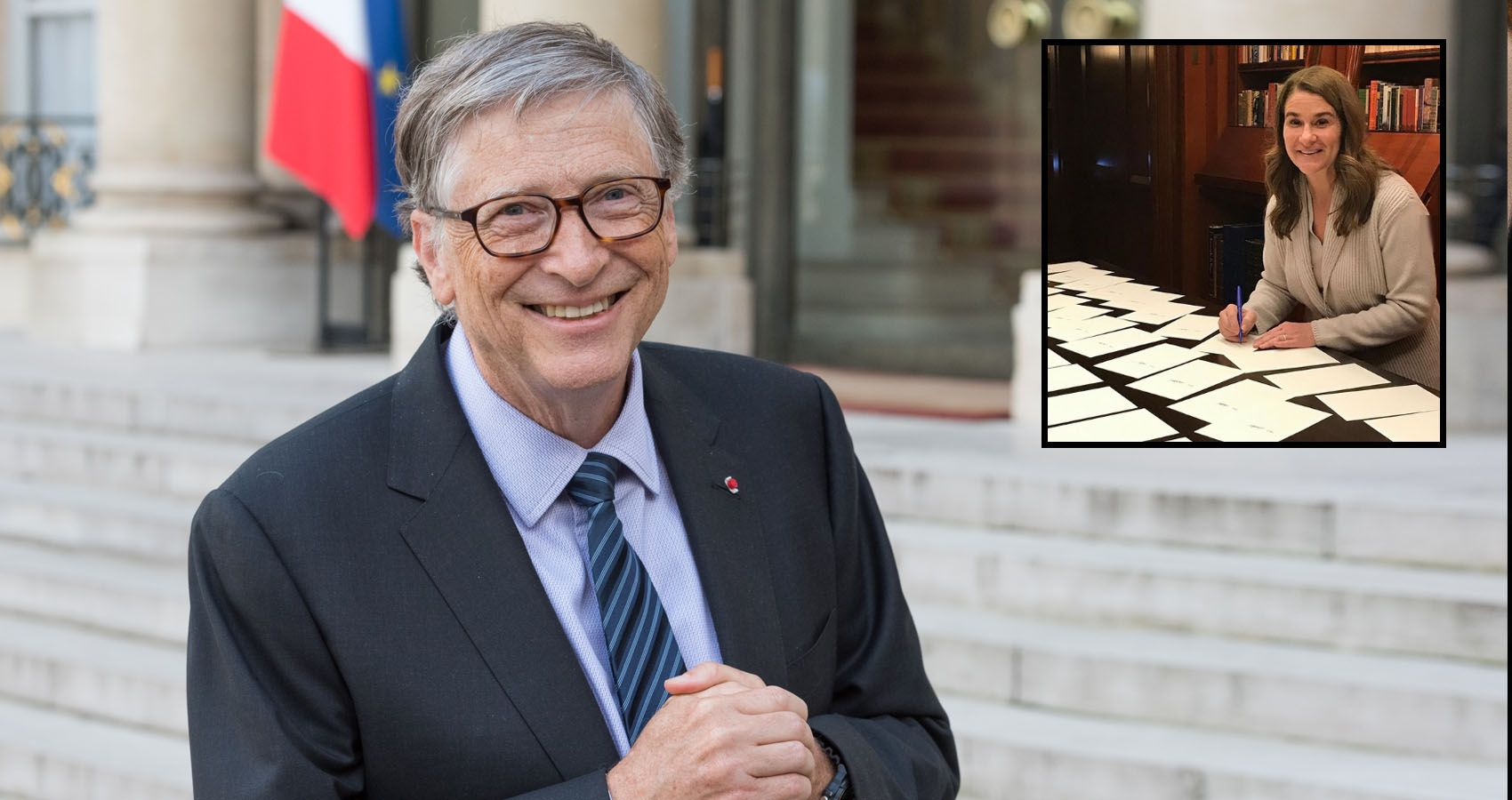 Bill Gates Gives Melinda $1.8 Billion In Stocks During Early Stages Of Divorce
