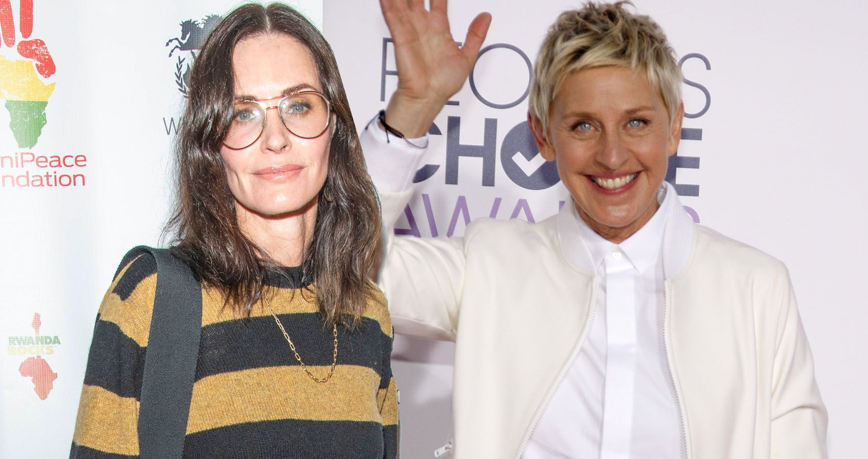 Ellen DeGeneres Reveals Why She Stayed With Courtney Cox After Selling Her Mansion