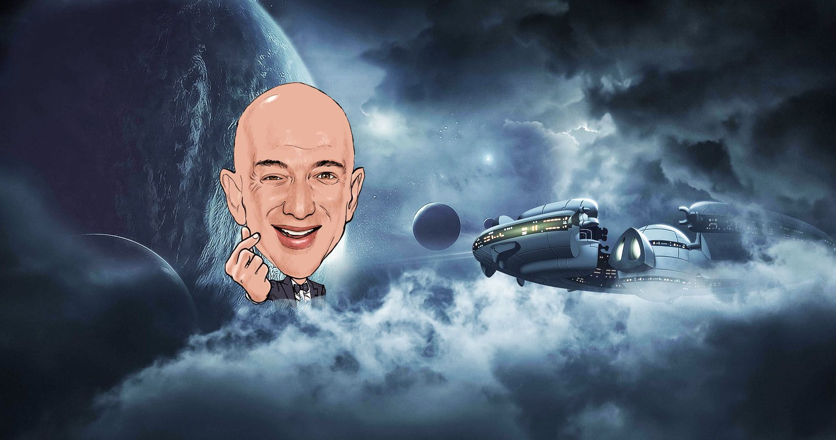 Jeff Bezos Planning To Pay Billions To Go To Space