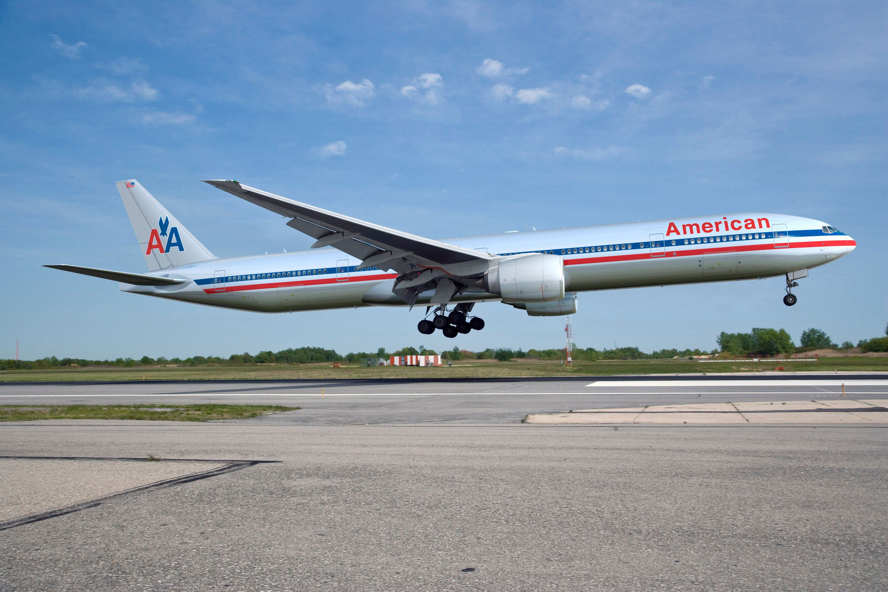 American Airlines 777 K65100