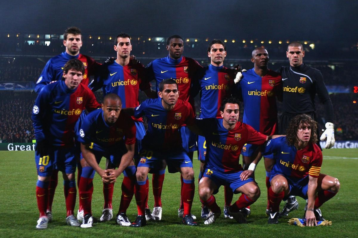 Lyon v Barcelona - UEFA Champions League