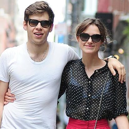Keira Knightley dating Klaxons singer?