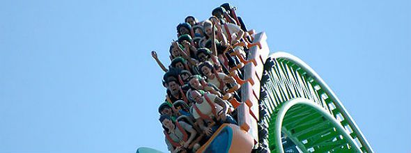Kingda Ka, The Worlds Tallest Roller Coaster