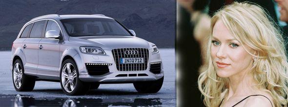 Naomi Watts Car: Audi Q7