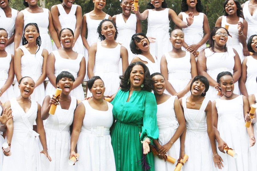 US talk show queen and media mogul Oprah